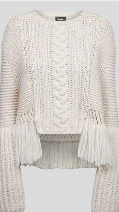 - Just fabulous knitting Knitwear Fashion, Knit Fashion, Knitting Designs, Knitting Projects, Knitting Patterns, Crochet Patterns, How To Purl Knit, Knit Crochet, Fabric