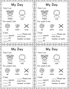 Parent Communication Printable Log (FREE & EDITABLE