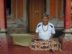 Ketut Lier - eat pray love....would love to talk to him