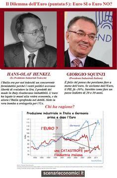 Il Dilemma dell'Euro (puntata 5): Henkel versus Squinzi