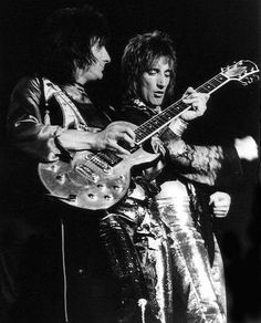 Ron Wood and Rod Stewart - THE FACES!