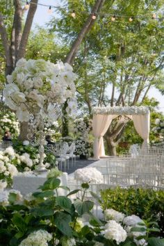 Wedding aisle  for a Garden Wedding ... #Budget wedding ideas for brides & bridesmaids, grooms & groomsmen, parents & planners ... https://itunes.apple.com/us/app/the-gold-wedding-planner/id498112599?ls=1=8 … plus how to organise an entire wedding, without overspending ♥ The Gold Wedding Planner iPhone App ♥