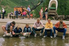 Gold panning one of the best things to do in Breckenridge.