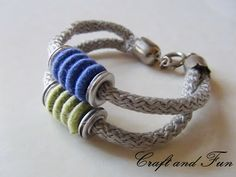 Riciclo Creativo - Craft and Fun: Riciclo creativo: bracciali di corda