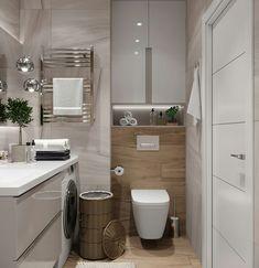Startling Facts Regarding How to Create Bathroom That Fit Best Toilet Closet Unveiled - lowesbyte Bathroom Toilets, Laundry In Bathroom, Master Bathroom, Minimal Bathroom, Modern Bathroom, Bad Inspiration, Bathroom Inspiration, Bathroom Design Small, Bathroom Interior Design