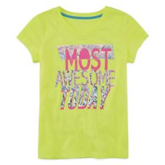Xersion™ Athletic Graphic Tee - Girls 7-16 and Plus  found at @JCPenney