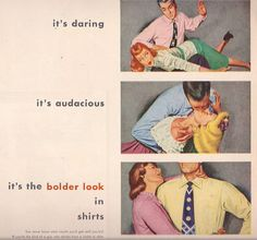 It's Audacious! ad Van Heusen Shirts 1949