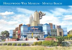 New Myrtle Beach Hollywood Wax Museum (Summer 2014)