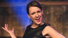Die Komikerin Carolin Kebekus in Köln nach der Aufzeichnung der Sendung