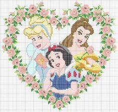 AMOR AO PONTO CRUZ: As Princesas da Disney