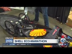 Students compete in Shell Eco-marathon - YouTube