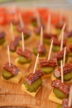 Finger Food Appetizers, Yummy Appetizers, Finger Foods, Appetizer Recipes, My Favorite Food, Favorite Recipes, Brunch, Party Sandwiches, Snacks Für Party