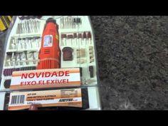 Conhecendo Micro a Retífica com Eixo Flexível e Maleta 234 Peças Sagyma DC-130B-5 - YouTube