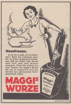 vongestern Blog: Kochen, waschen, jung bleiben: Die Schweizer Hausfrau 1936