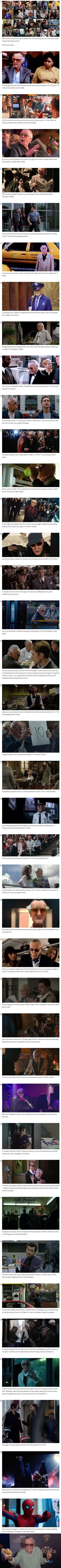 Every Marvel Cameo Stan Lee Has Graced Us With Over The Years