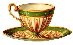 *The Graphics Fairy LLC*: Vintage Graphics - Pretty Teacups