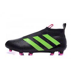buy online 83141 12eba Adidas Ace - Goedkoop Adidas ACE 16 Purecontrol FG-AG Zwart Groen