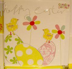 Another from Caroline Gardner! Caroline Gardner, Fluffy Bunny, Just Giving, Happy Easter, Spring Time, Tweety, Greeting Cards, Kids Rugs, Seasons