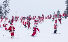 Join the Santas at Whistler Blackcomb Resort Best Ski Resorts, Santa Suits, Seattle Times, Canada Day, Family Memories, Whistler, Pacific Northwest, Favorite Holiday, Wonderful Time