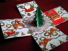Plantin Schoolbook & Winter wonderland cartridges - Cristmas explosion box