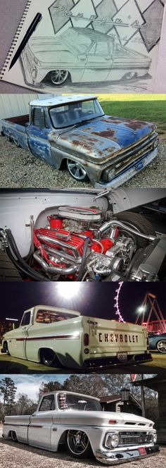 "1966 Chevy C-10, ""Clyde"" - LMC Trucklife www.lmctrucklife.com"