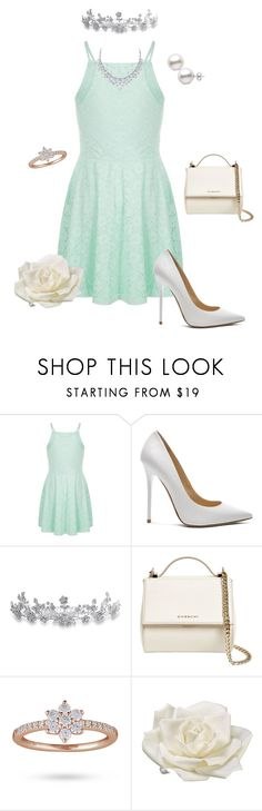 """""""Modern Tiana"""" by clyx ❤ liked on Polyvore featuring Jimmy Choo, Bling Jewelry, Givenchy, Allstate Floral, modern, Disneyprincess, PrincessAndTheFrog and Tiana"""