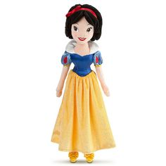 Snow White Plush Doll ($20) ❤ liked on Polyvore featuring toys