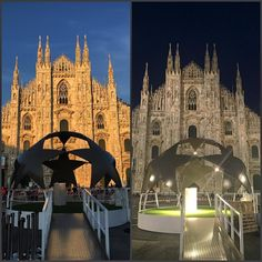 Milan is ready!  #Milano #championsleague #calcio #football #realmadrid #atleticomadrid #piazzaduomo #Duomo #Duomodimilano #meraviglia #tuttopronto #ready #milan #milanodavedere #baciatodalsole #bynight #taaac #milanbynight #stelle #sansiro #milanocity #italy #champions2016 by terry_med
