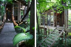 """Treehouse in Atlanta, United States. AIRBNB'S """"#1 MOST WISHED-FOR LISTING WORLDWIDE!"""" for 2016  DUE TO WARM WEATHER LOCAL (ATLANTA)  GUESTS MAY INQUIRE RE STAYS BETWEEN NOW AND MARCH!  Suite of three beautifully furnished rooms set amongst the trees. Just minutes from downtown, this ..."""
