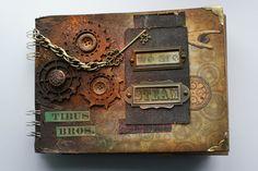 Szymka-Blog z Inspiracjami: {168} Okładka Albumu - Styl Steampunk