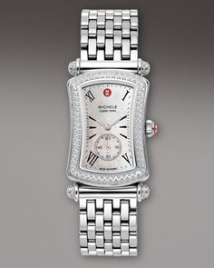 Caber Park Diamond Watch by Michele Watches at Neiman Marcus.