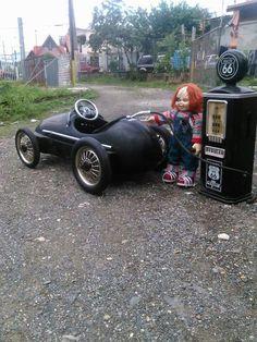 Weird ... Pedal car