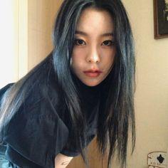 Where Are We Now, South Korean Women, Under The Rainbow, Wheein Mamamoo, Rainbow Bridge, Korean Girl Groups, Asian Woman, My Girl, Long Hair Styles
