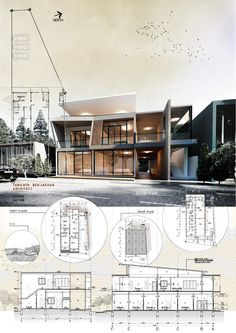 Architectural poster presentation