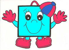 figuras geometricas animadas a color - Yahoo Image Search Results Classroom Board, Classroom Decor, Craft Activities For Kids, Preschool Activities, Mathematics Geometry, Alphabet Letter Crafts, Teaching Aids, Preschool Printables, Bee Theme