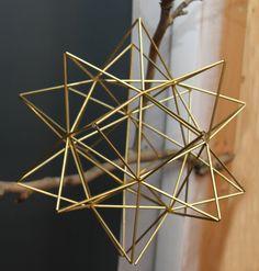 Brass Pollen ball mobile
