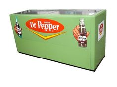 Dr pepper cooler style vending machine