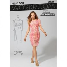 New Look Womens fit dress. New Look Project Runway 6070 (4,6,8,10,12,14,16)
