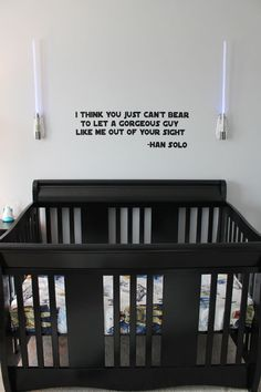 OMG star wars baby room!