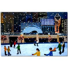 Chicago Skaters - Holiday Cards Box Set