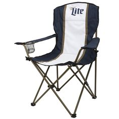 Miller Lite Collapsible Captains Chair