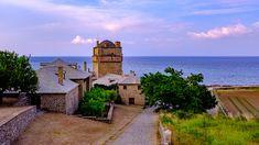 Iviron Monastery Moutn Athos Macedonia Greece