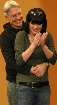 #NCIS 200 Episode Cast Party ~ Mark Harmon and Pauley Perrette