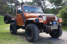 jeep wrangler tj snorkel | Snorkel Kit for Jeep Wrangler TJ 96-99 Jeep Wrangler Yj, Jeep Tj, Jeep Accessories, Black Labs, Snorkeling, Roads, Cool Cars, 4x4, Monster Trucks