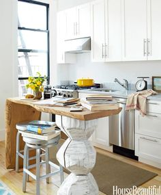 Un mini apartamento en blanco · A tiny white apartment
