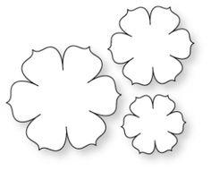 Papertrey Ink - Beautiful Blooms II #1 Die Collection (set of 3)