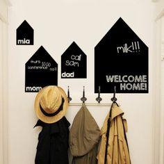 black board | family entrance news