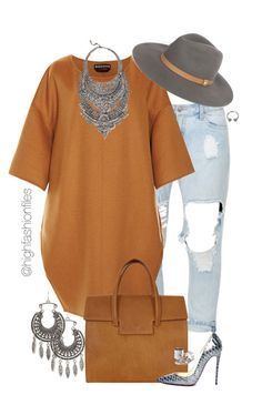 """""""Fall Hipster Look"""" by highfashionfiles ❤ liked on Polyvore featuring Charlotte Russe, Rochas, Maison Margiela, Christian Louboutin and DYLANLEX"""