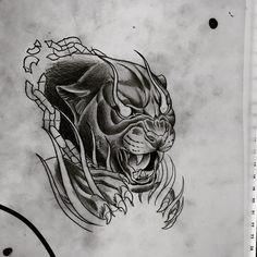 "https://www.instagram.com/opale_sasori/ @opale_sasori  (this one is not mine)  #illustration #neotraditionel #neotraditional #neo #traditionel #traditional #draw #drawing #tattoo #ink #tattooed #inked #sketch #sketches #flowers #animals #ink #tat #tats #neotrad #tattooartist #tattoos Dan Jones (@danjones_tattoo) sur Instagram: ""Panther doodles for the weekend, #panther #panthertattoo #neotraditional #neotrad #cat #cattattoo…"""