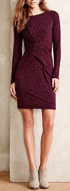 Beautiful draped dress #anthrofave http://rstyle.me/n/r4n4enyg6